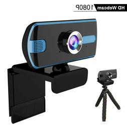 Webcam 1080P USB2.0 Web Camera with Microphone,computer Lapt