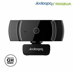 PAPALOOK HD 1080P Webcam AF925 with Auto Focus, Fold-and-Go