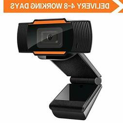 Webcam Auto Focus 1080P Full HD Widescreen Web Camera with M