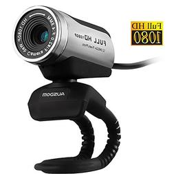 AUSDOM Web Camera AW615 , 1080P Webcam with Microphone, Vide