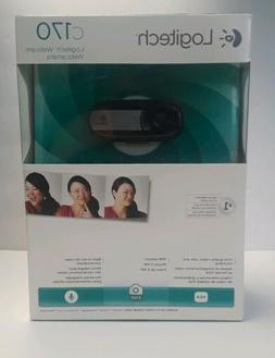 Logitech Webcam Camera C170 Web Cam Video Built in Mic Skype