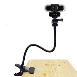 Webcam Clip, Flexible Stand Compatible with Aukey Webcam 2K