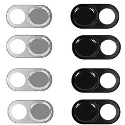 Webcam Cover Slide Sticker 8 Pack Fit MacBook Pro iPhone and
