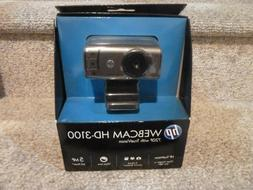 HP Webcam HD-3100 720P with TrueVision NEW