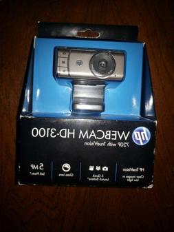 hp Webcam HD-3100 720P with TrueVision