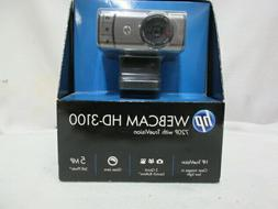HP WebCam HD-3100 Hd 720P With TrueVision BK356AA