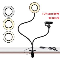 Webcam Light Stand For Live Stream Selfie Ring Light Acetake