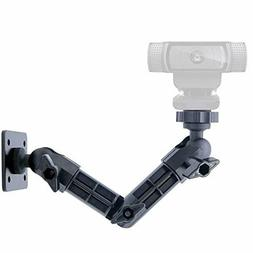 Webcam Wall Mount Adjustable Arm Logitech Stand For Waterpro