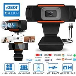 Webcam with Microphone HD Streaming USB Computer Webcams 12M