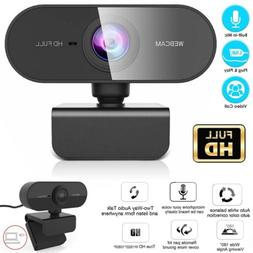 Webcam With Microphone Real Full HD 1080P Streaming Camera F
