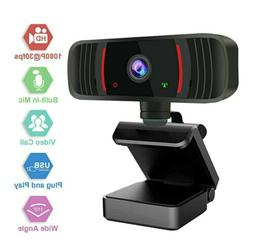 Webcam with Microphone Zoom Video Calling Gaming Conference