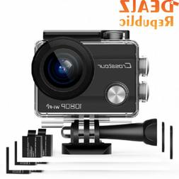 Crosstour CT7000 Action Camera 1080P 12MP WiFi Underwater Sp