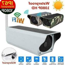 Wireless 1080P Solar Security IP Camera Wifi Surveillance We
