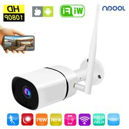 Wireless FHD 1080P WIFI IP Camera CCTV Outdoor Security IR N
