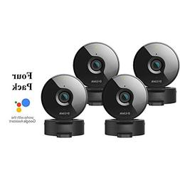 D-Link 4-Pack Wireless-N Network Surveillance 720P Home Inte
